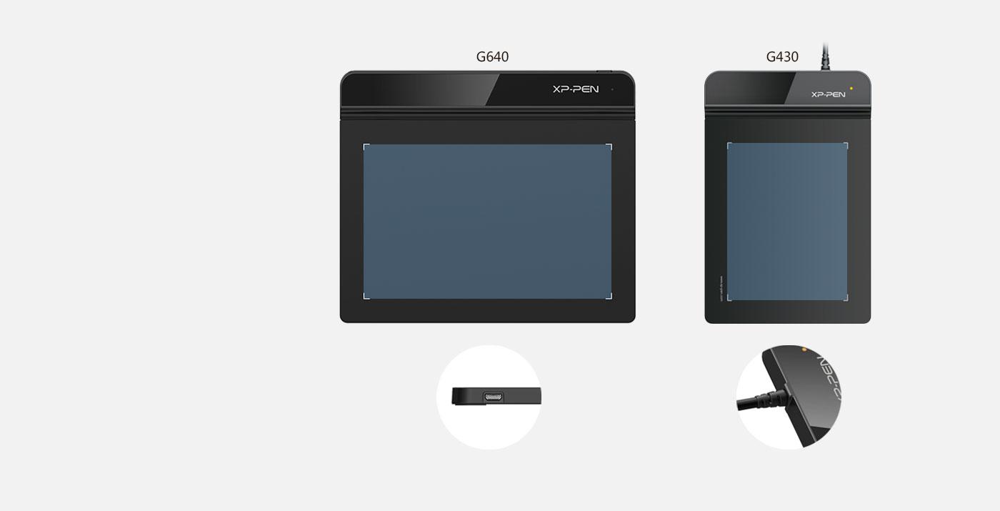 XP-Pen Star G640 Tableta gráfica Con área trabajo de 6 x 4 Pulgadas