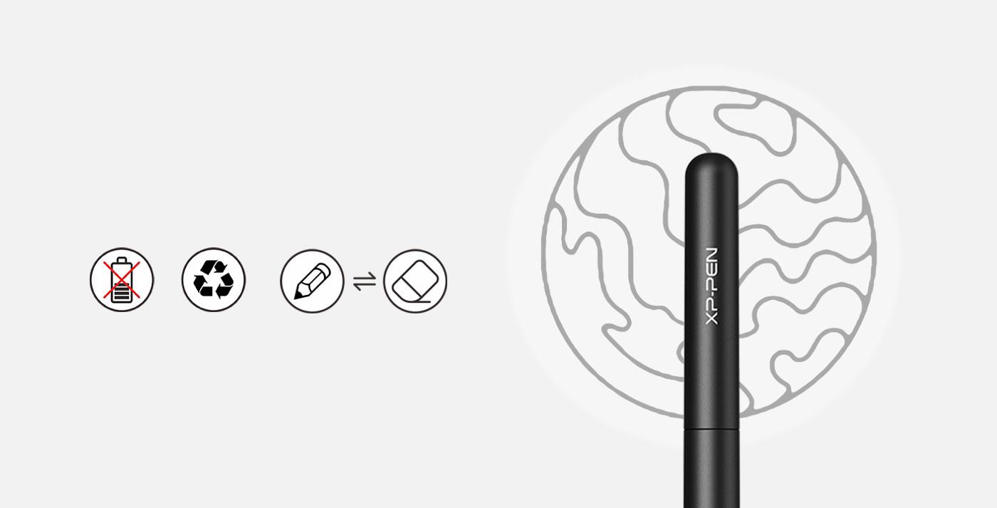lápiz P01 para Tableta gráfica XP-Pen Star G640 sin batería y sin carga