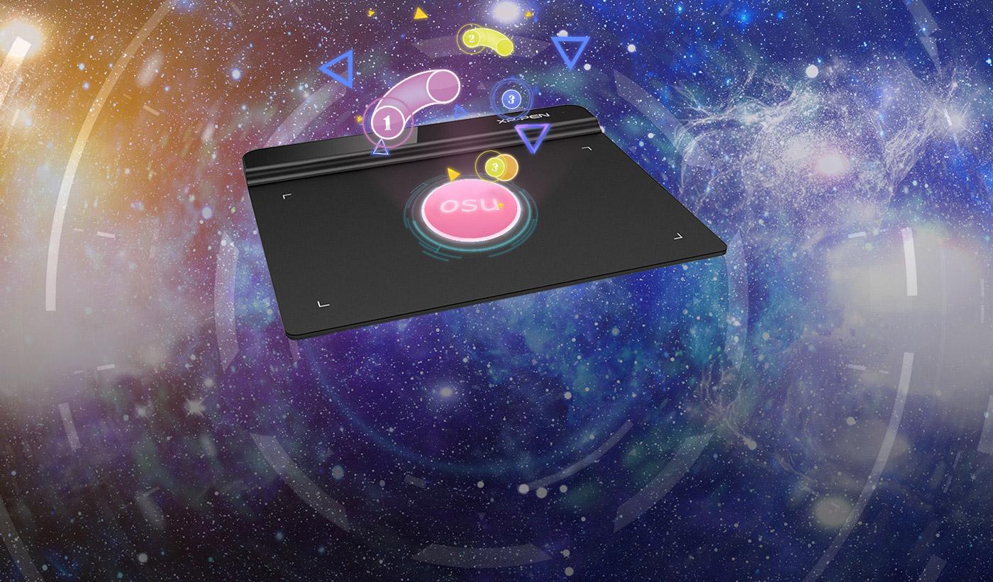 XP-Pen Star G640 Tableta gráfica Mejor opción para jugar OSU